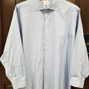 Brooks Brothers Blue Madison Non-Iron Dress Shirt